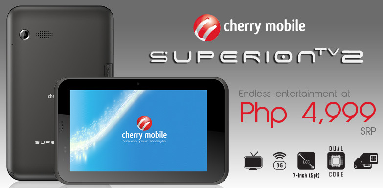 Cherry Mobile Super Ion Ion Tablet