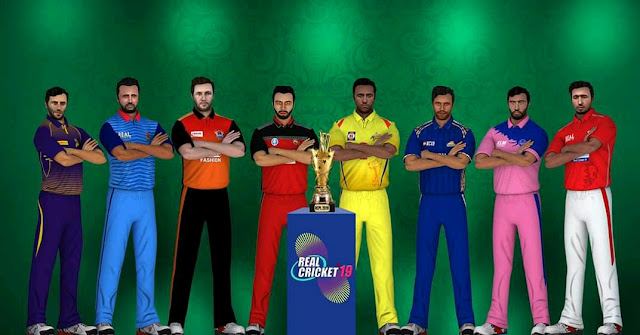 Real Cricket 19 New Graphics And Real Face
