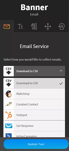 integrate Mailchimp with Blogger