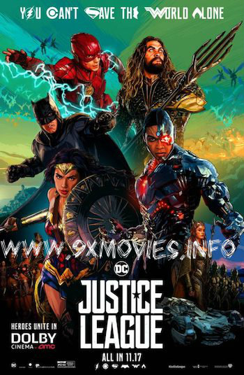 Justice League 2017 English HDTS x264 700MB