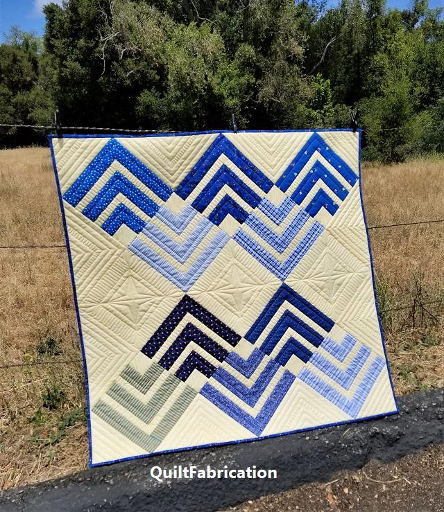 precut primer-strip quilt-baby quilt
