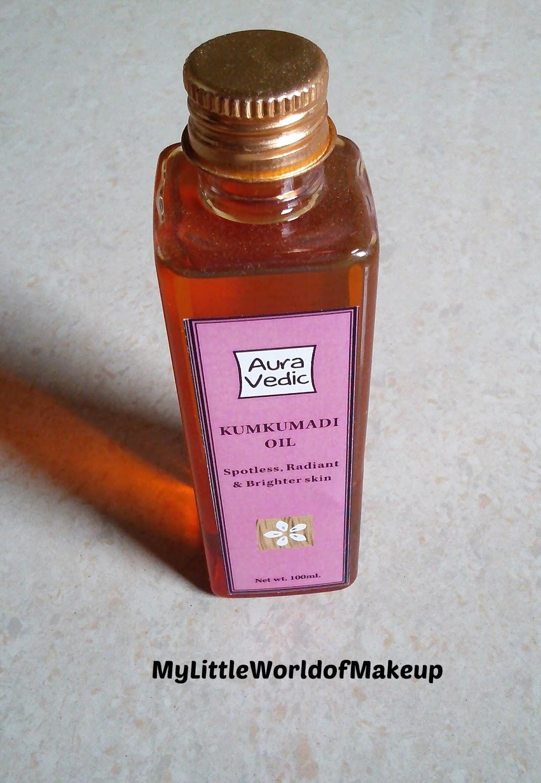 Auravedic Kumkumadi Oil Review