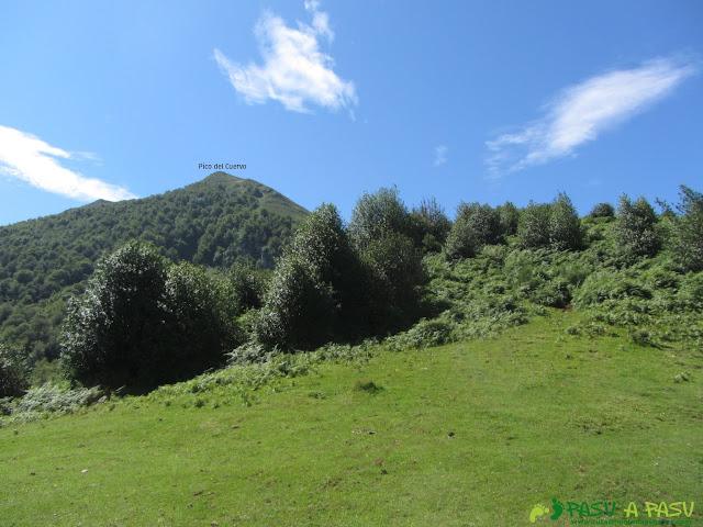 Pico del Cuervo desde la Collaína