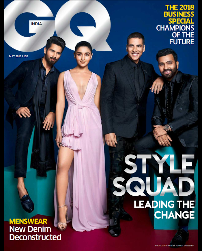 GQ India Magazine May 2018 Download PDF