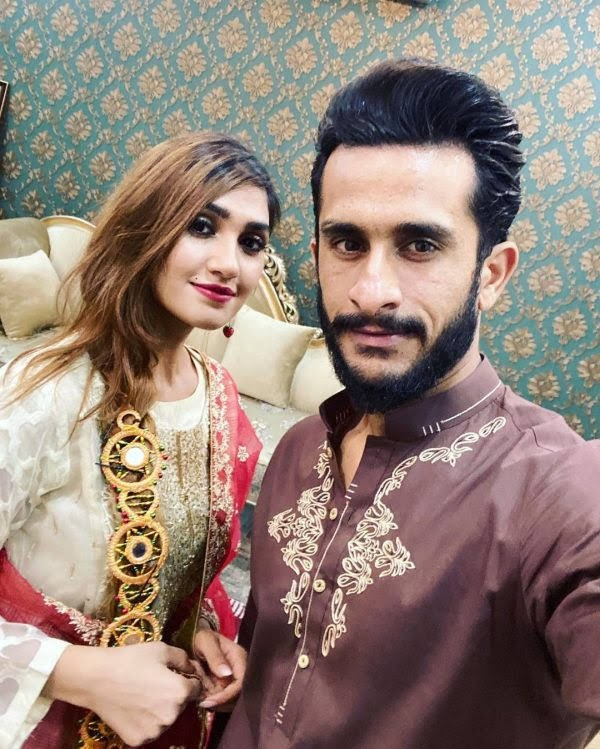 Cricketer Hasan Ali and Samyah Khan blessed with baby girl