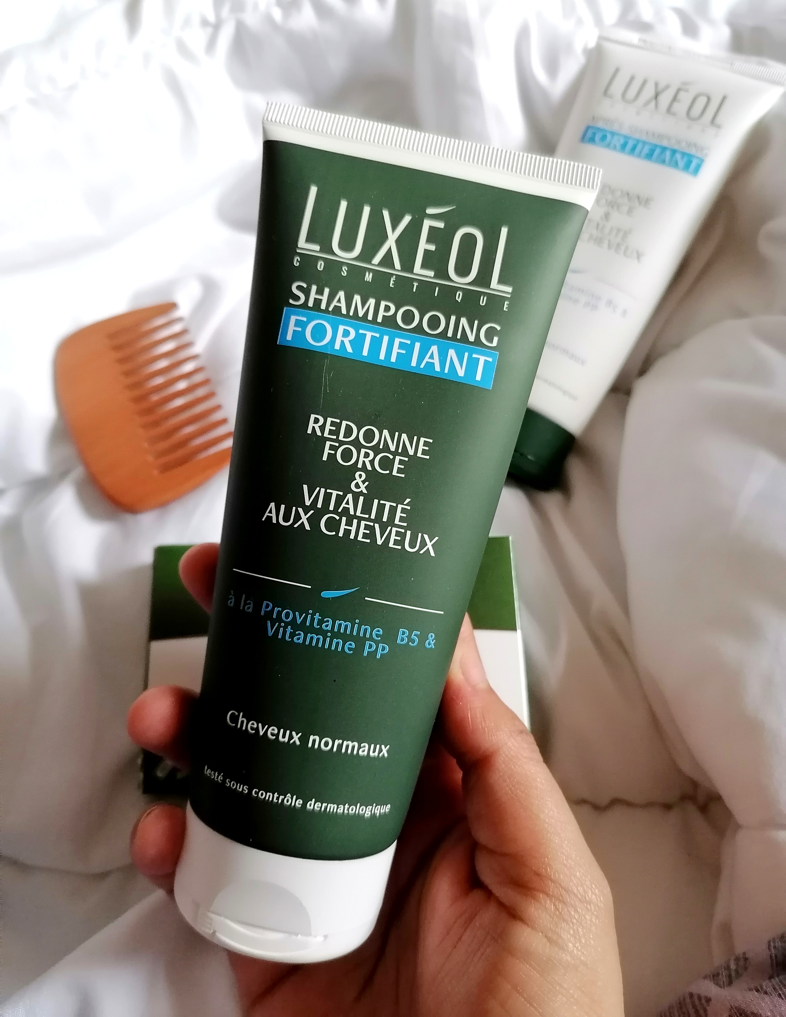 Une routine cheveux fortifiante 100% Luxéol! 💙