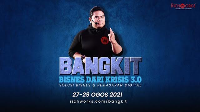 Datuk Wira Dr Azizan Bantu Usahawan Terkesan Pandemik Dengan Menganjurkan Progam Bangkit Bisness Dari Krisis 3.0 Secara Percuma
