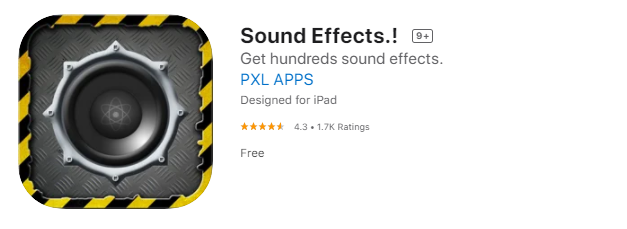 sound effects app for android and ios
