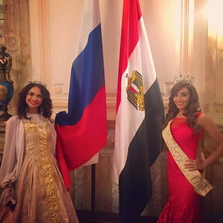 يحدث الان في حفل استقبال متسابقات ملكة جمال مصر وبالقنصلية العامة الروسية بحضور ملكة جمال روسيا للسياحة