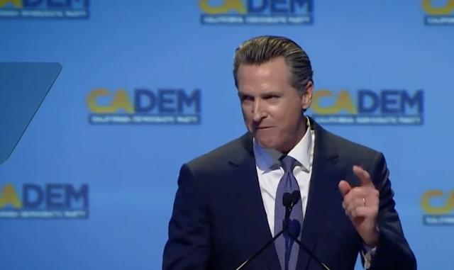 Gavin Newsom CA health plan includes individual mandate