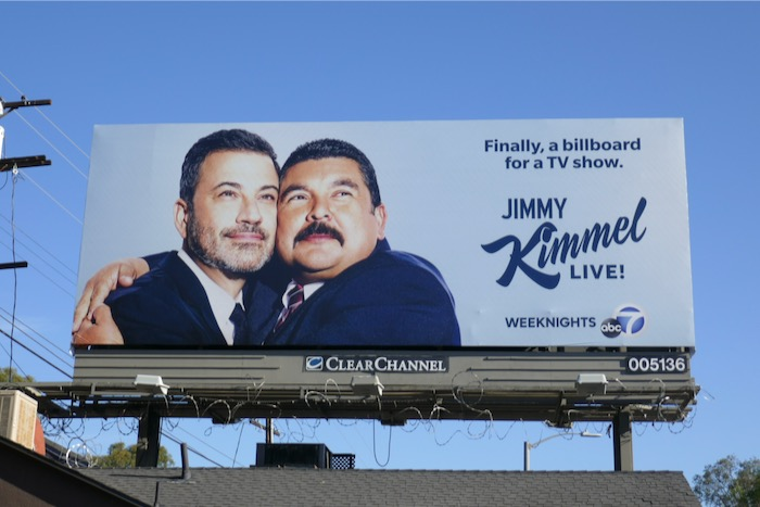 Jimmy Kimmel Live season 18 billboard