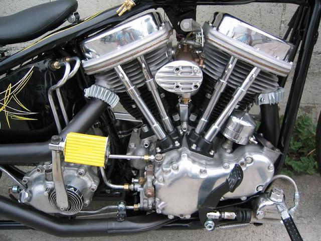 Harley Davidson Panhead By Garage Company Hell Kustom