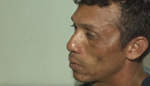 Após tentativa de assalto a posto de combustível, homem é detido por populares em Caxias