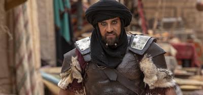 Hannibal (Rafael Sardão) vai mandar matar o próprio filho em Jezabel, novela bíblica da Record