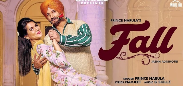 Prince Narula : FALL | Punjabi |  Lyrics Music World | MusicAholic