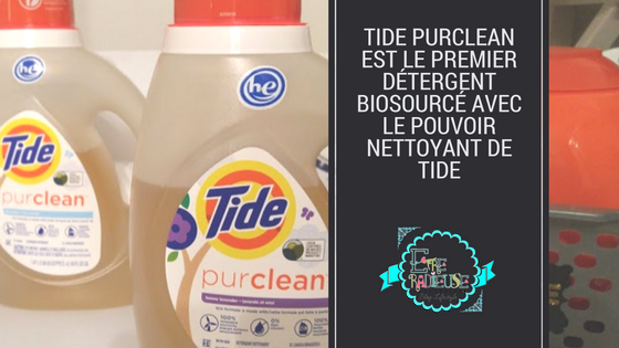 Tide #purclean est le premier détergent biosourcé avec le pouvoir nettoyant de Tide