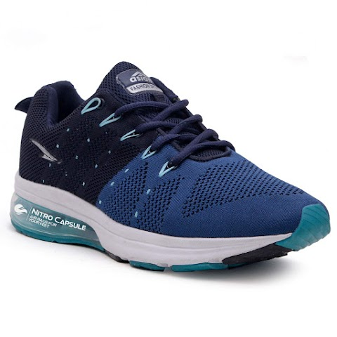 ASIAN Worldcup-03 Men's Knitted Sports Shoes, Phylon Sports, Ultra-Lightweight, Breathable, Walking, Fabric Running Shoes