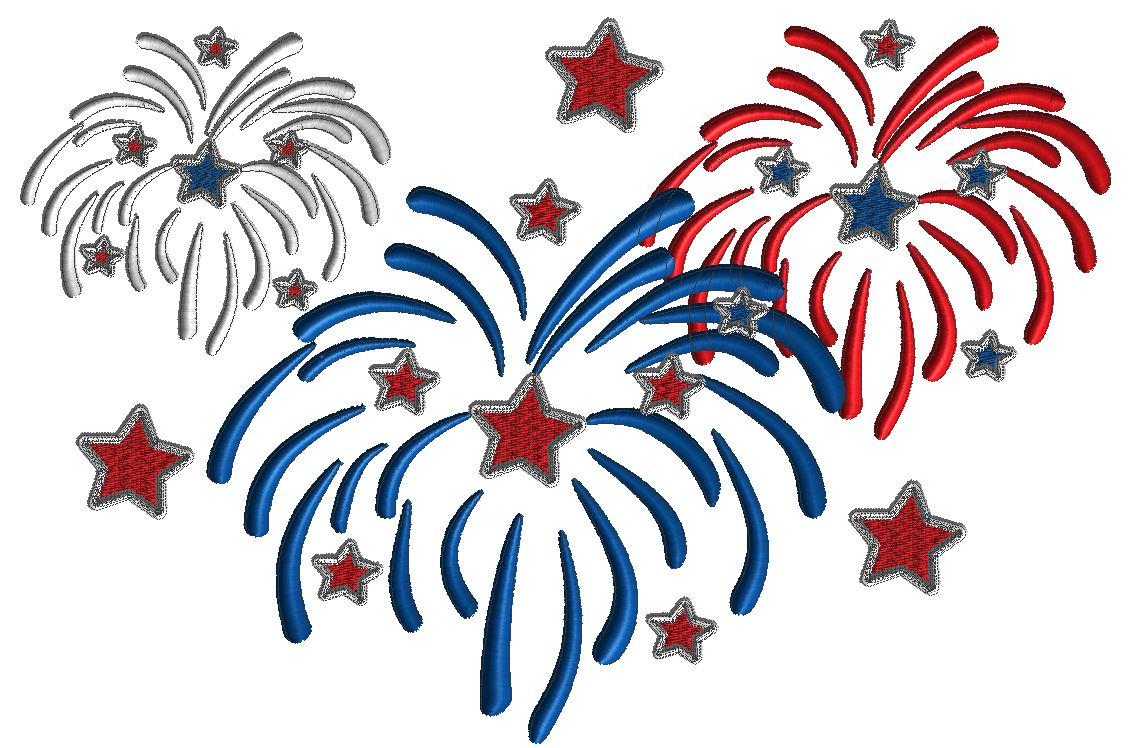 adelaidescorner fireworks embroidery design 4th of july. Black Bedroom Furniture Sets. Home Design Ideas