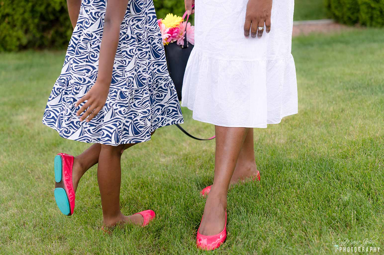 How to Celebrate Mother's Day From Far Away - Adult and Little Miss Tieks