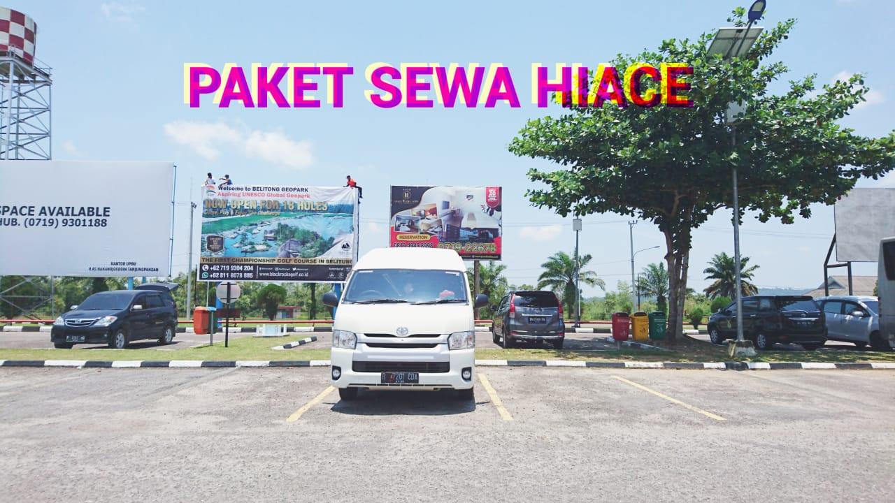 Sewa Hiace Di Belitung Murah
