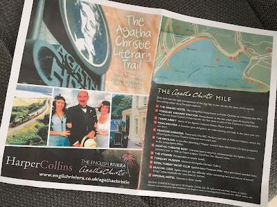 The Agatha Christie Literary Trail map