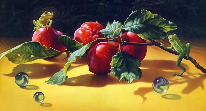 Ilene Meyer 1940-2009 | American Fantastic Surrealist painter