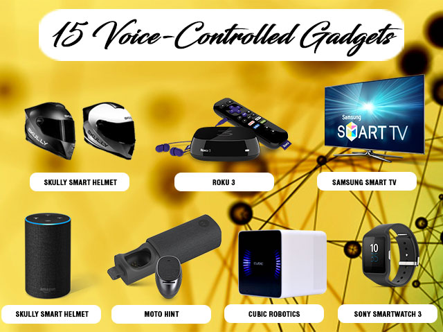 15 Voice Activated Devices of our Time!