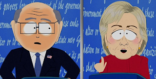 South Park Lampoons The Presidential Debates
