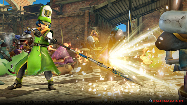 Dragon Quest Heroes Gameplay Screenshot 1