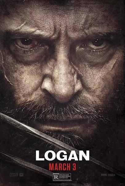 Poster of Logan 2017 Hindi 720p BRRip Dual Audio Full Movie Download With ESubs
