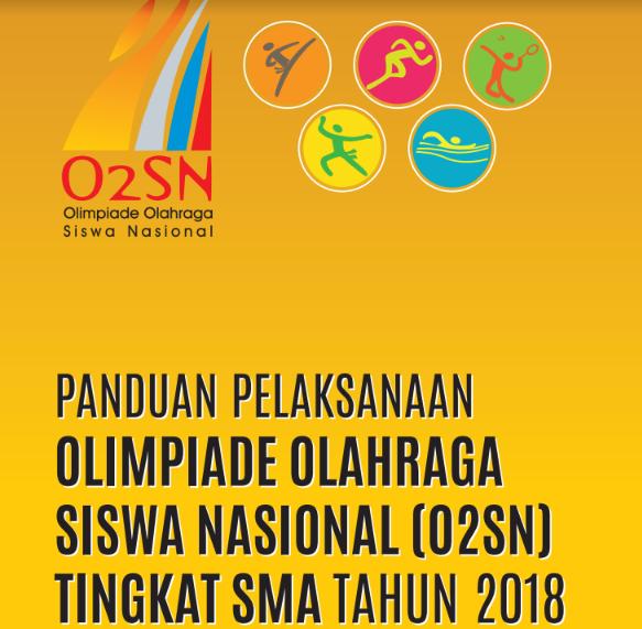 Panduan O2SN SMA Tahun 2018