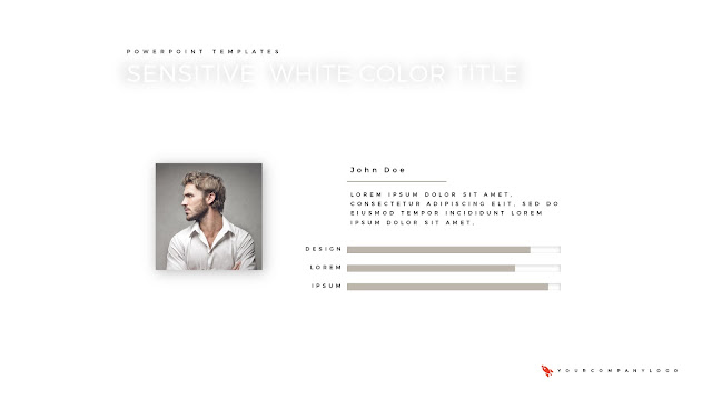 Our Member of Premium PowerPoint Template with Whit Title