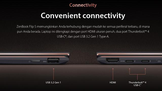 Interfaces Laptop Asus