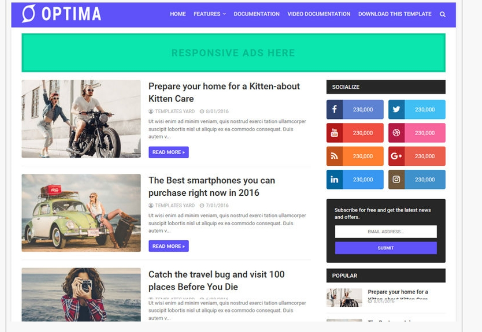 Optima_Blogger_Theme