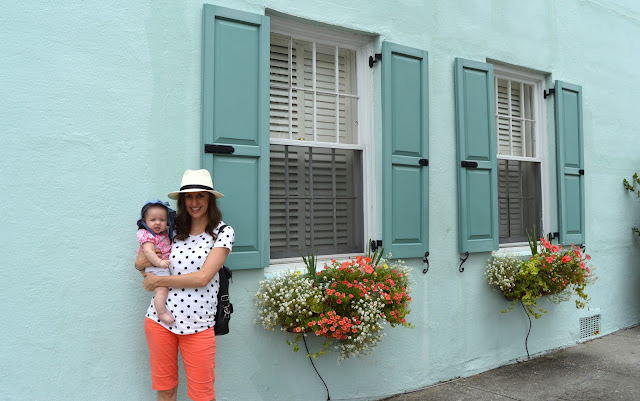 Pretty Windows, Flower Boxes, Shutters, Rainbow Row