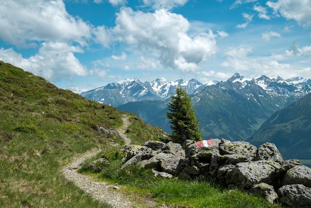 Der Pinzgauer Spaziergang  Die Saalbach Wander-Challenge 08