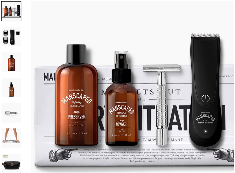 Manscaped - Grooming - RevShare (US)