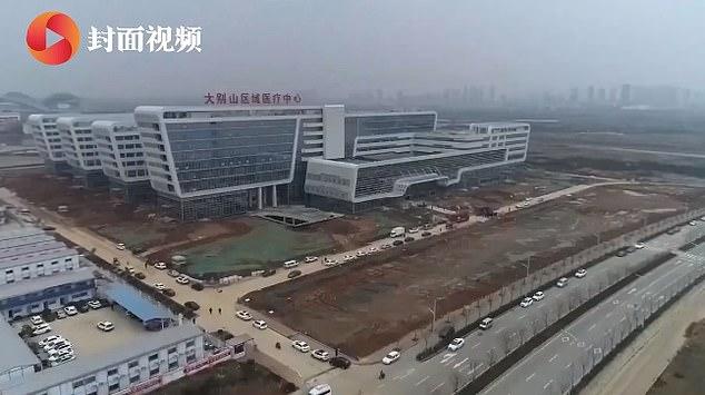 Wuhan Coronavirus Hospital