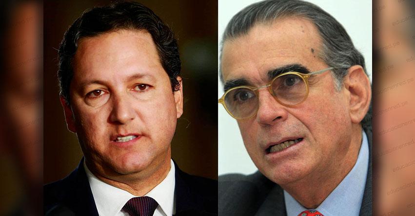 CONGRESO DE LA REPÚBLICA: Pedro Olaechea y Daniel Salaverry compiten hoy por la Mesa Directiva del Parlamento