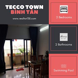 căn hộ Tecco Town Bình Tân 02 phòng ngủ đường Nguyễn Cửu Phú
