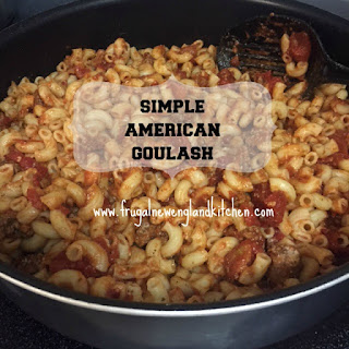 American Goulash Ground Beef Skillet Casserole