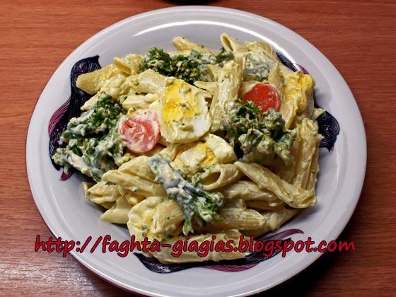 Σαλάτα με μπρόκολο και πένες