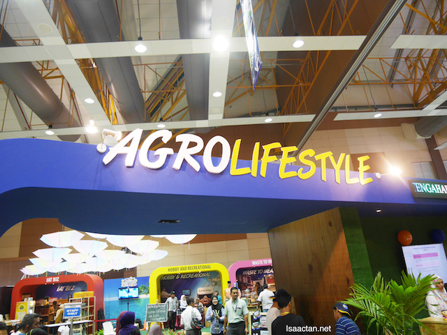 Go shopping at AgroLifestyle booths in the many halls at MAHA 2016