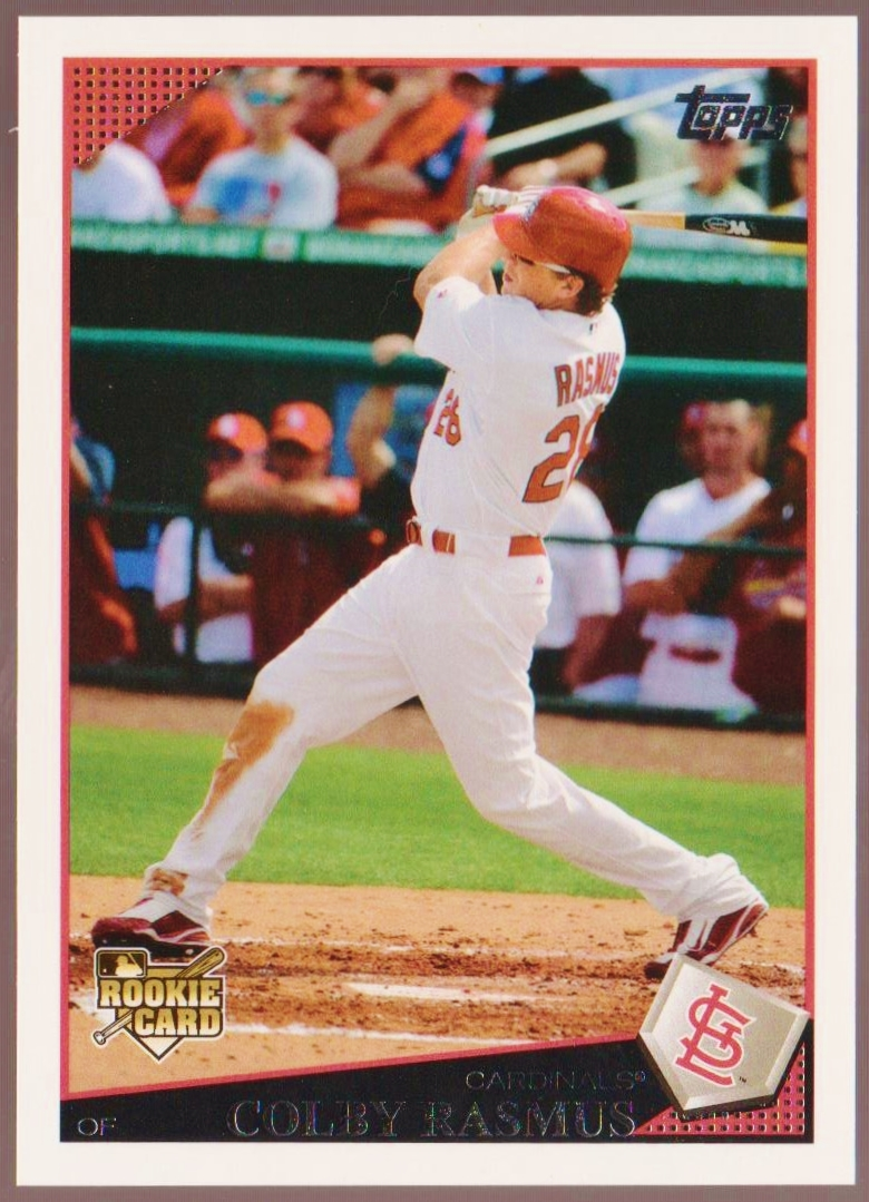 20th Century Topps Baseball 2009 Topps Factory Rookie Variation