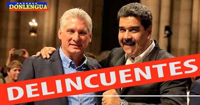 Tres presidentes denunciaron los delitos de Maduro y a Díaz-Canel en México