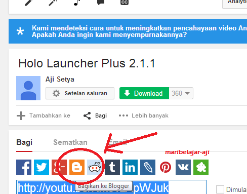 Cara Menambah Video Youtube Ke Postingan Blog