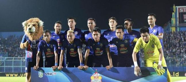 Susunan Pemain Arema FC