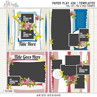 template : Paper Play 24 by Akizo Designs