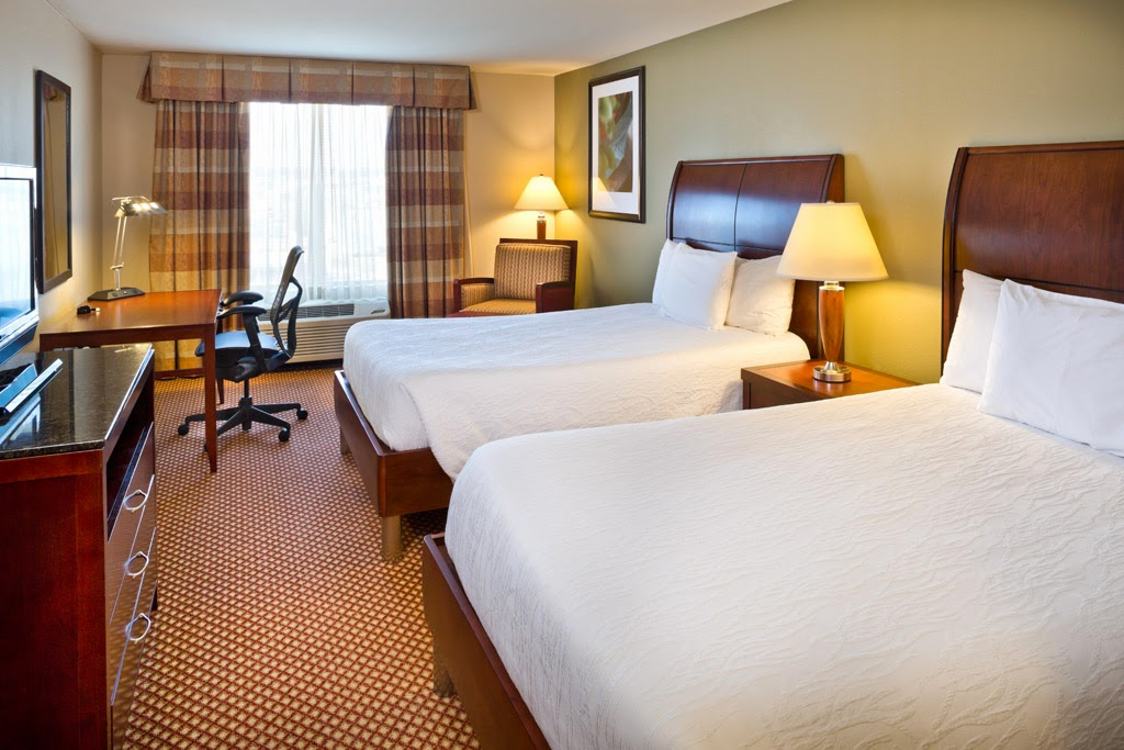 Guest Room Two Double Beds Hilton Garden Inn Baltimore/White Marsh