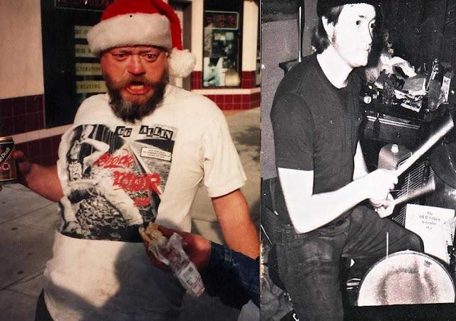 El Duce, young and old. #PMRC PunkMetalRap.com